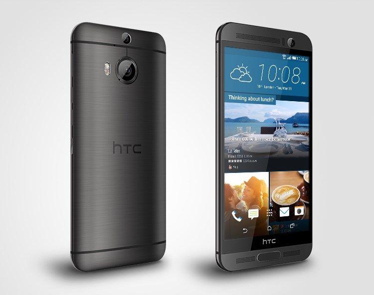 HTC revela oficialmente o One M9+