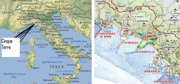 Cinque terre free translation five lands is part of the unesco cinque terre italy map of italy yahoo image search results gumiabroncs Images