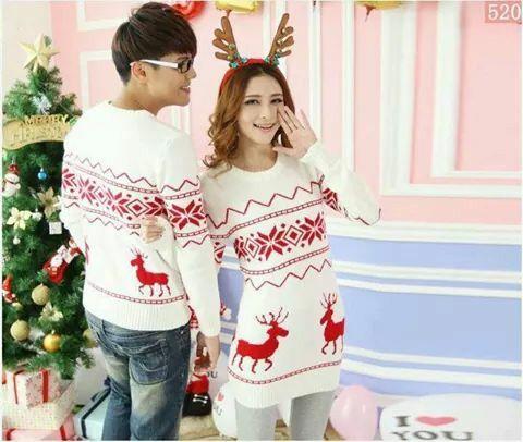 Moda hombre mujer de punto la capa del suéter para parejas