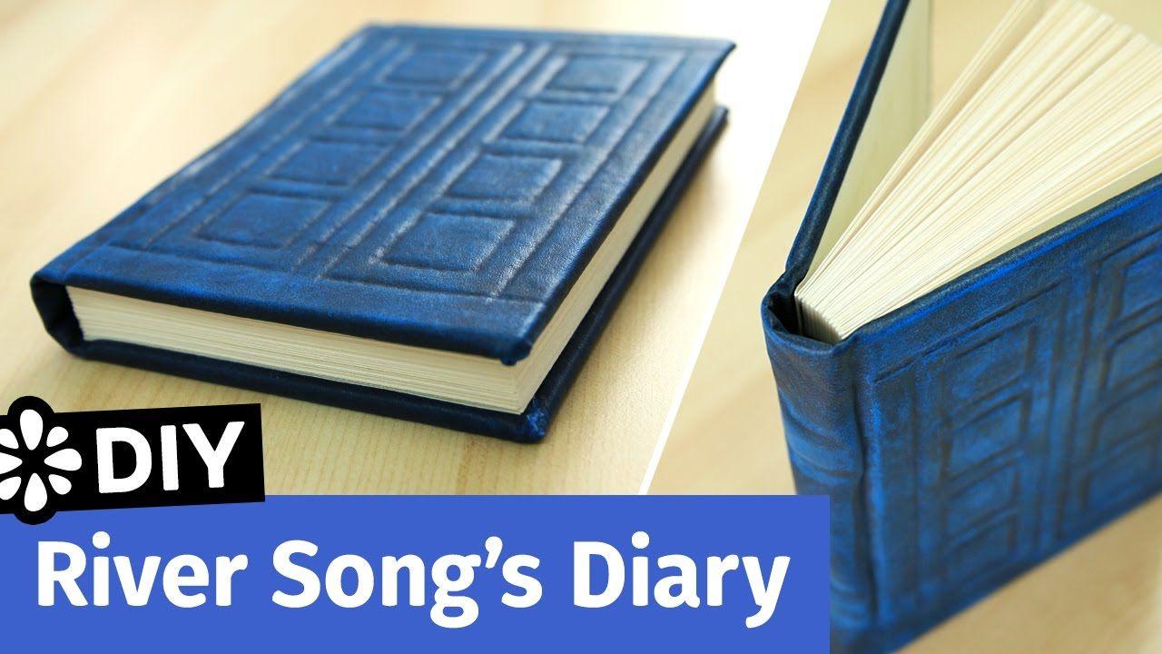 Doctor Who DIY River Song's Diary | TARDIS Journal | Sea ...