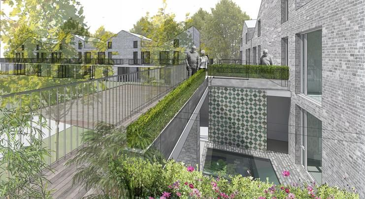 Tom Russell Architects Riba Competition Winning Retirement