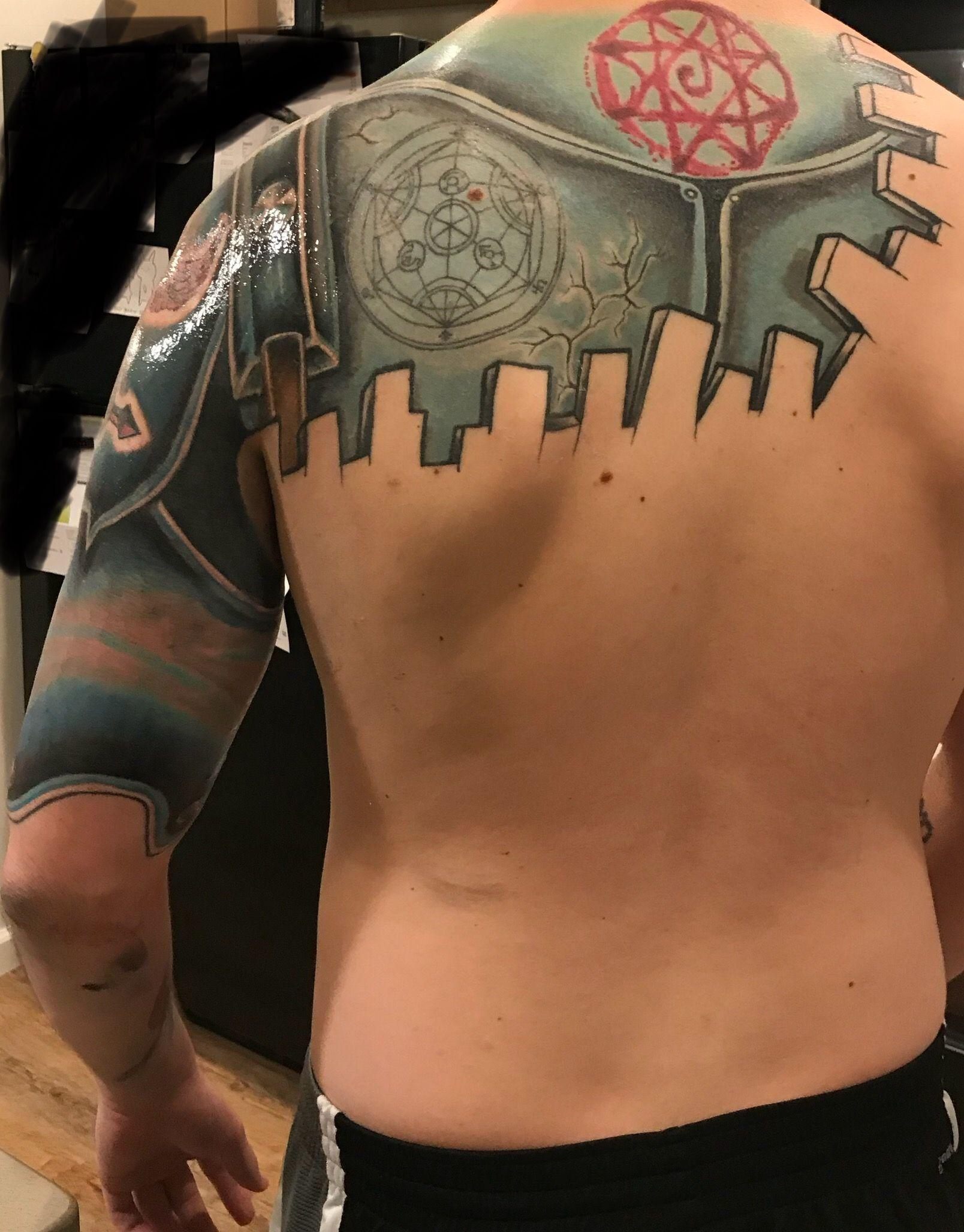 Fullmetal Alchemist Sleeve Progress (Matt Walker @ Tried ...