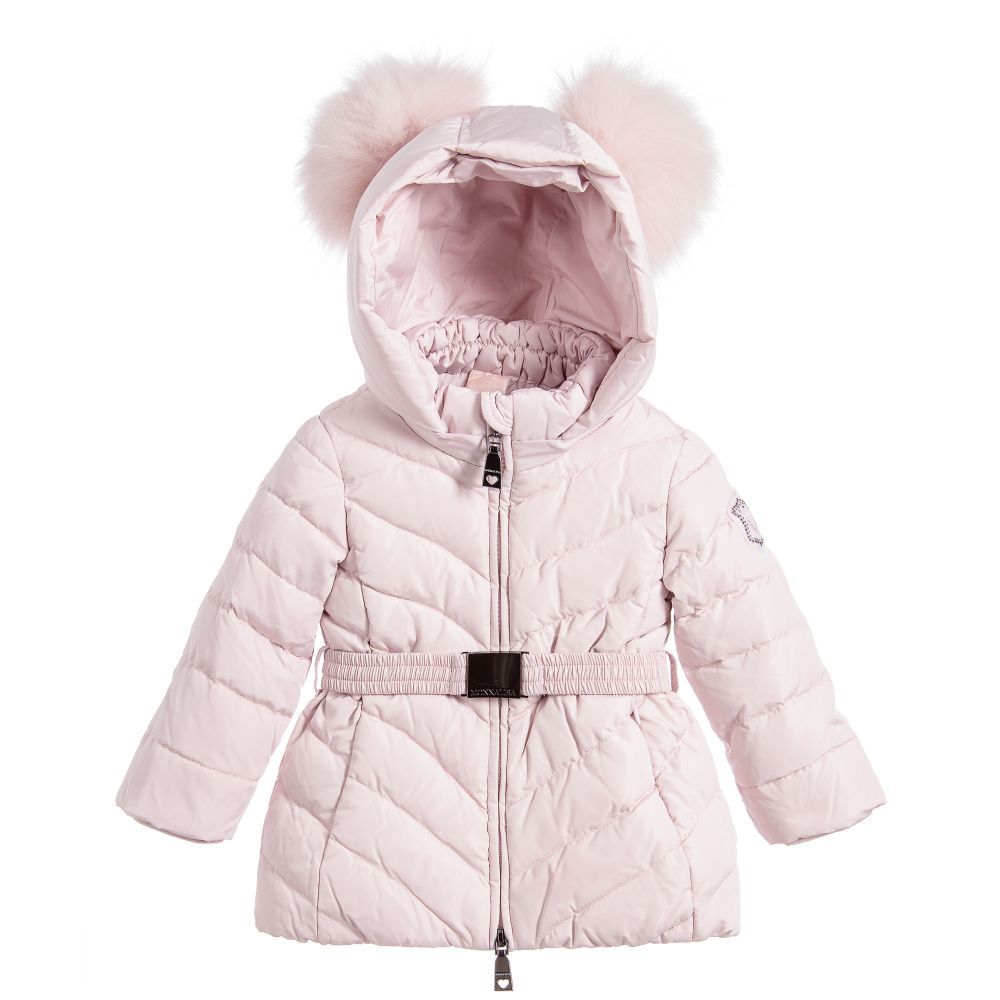 d4b288ee67b9 Girls will be ready to brave the cold outdoors in this pale pink ...