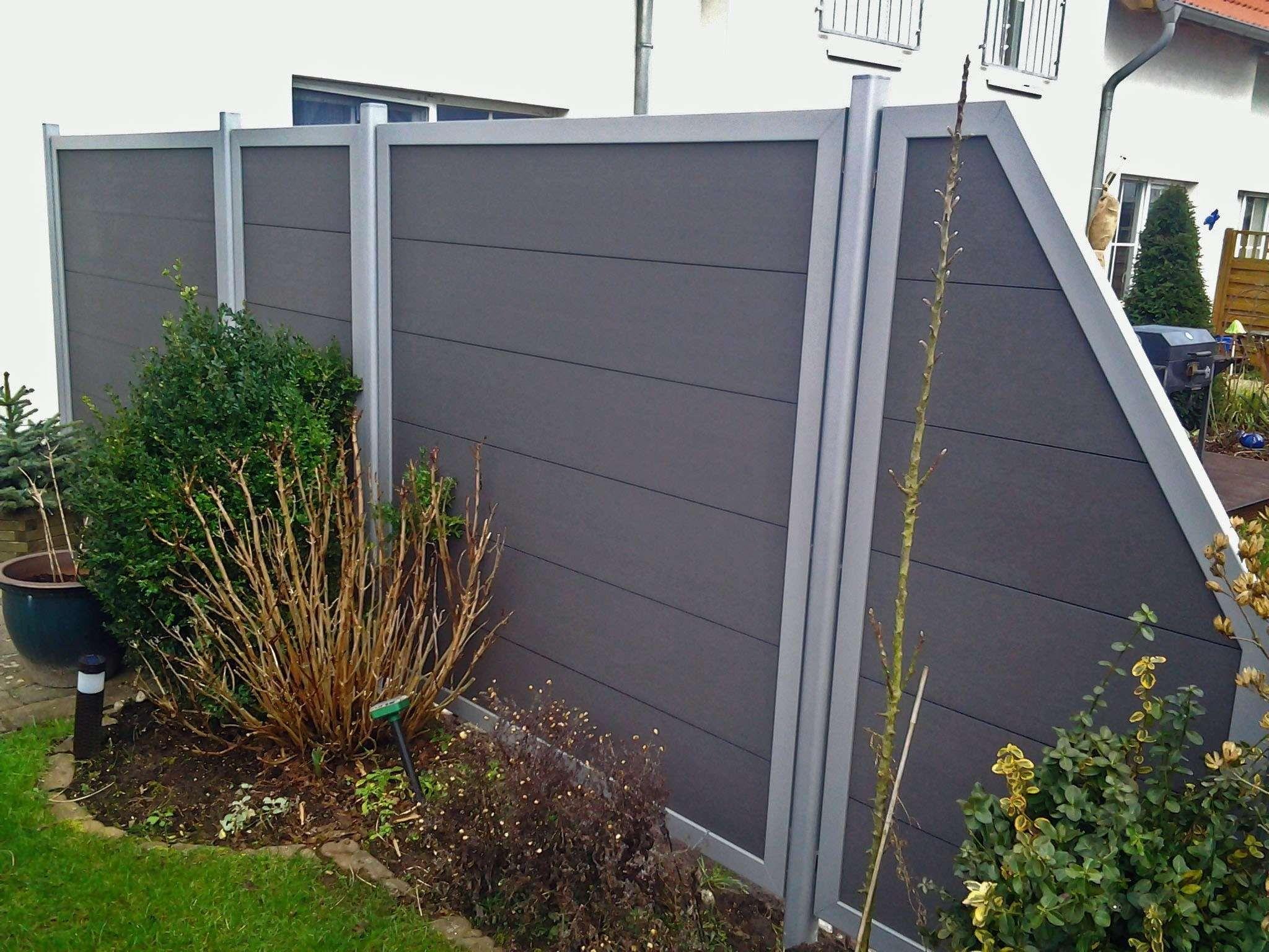 Ideen 45 Fur Bauhaus Sichtschutz Wpc Sichtschutz Wpc Terrasse