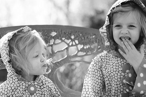 Sisters with Expression by Juniper Ash Photography