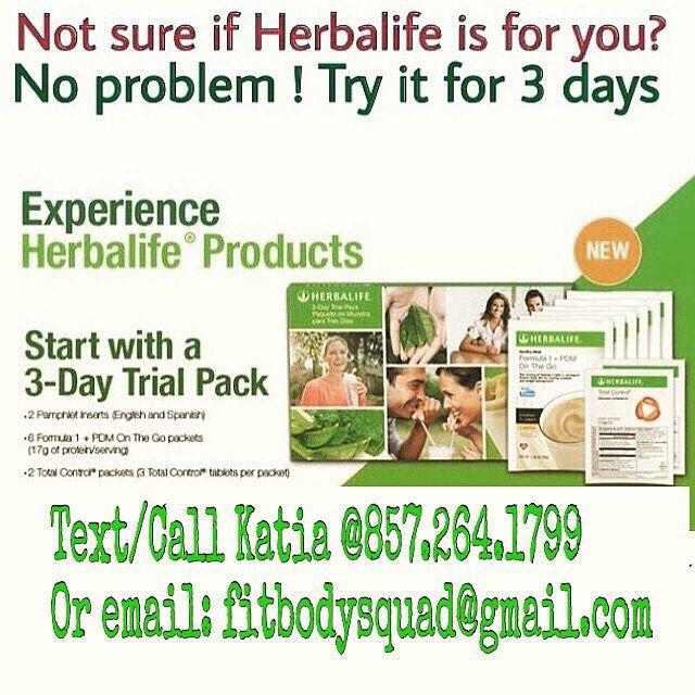 herbalife 3 day challenge