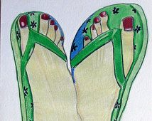 flipflops drawing - Google Search