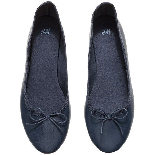 81758a417207 H M Ballet pumps ( 11) ❤ liked on Polyvore featuring shoes