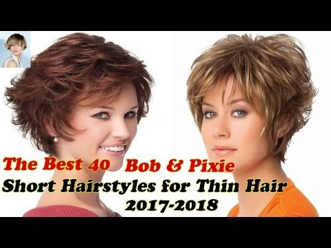Pin By Barbara Aulds On Joycekl Hairstyles For Thin Hair Short Thin Hair Hair Styles