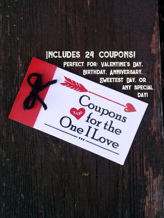 Valentines love Coupons for Husband Valentines gift for boyfriend DIY PDF Instant Download Love card #sweetestdaygiftsforboyfriend