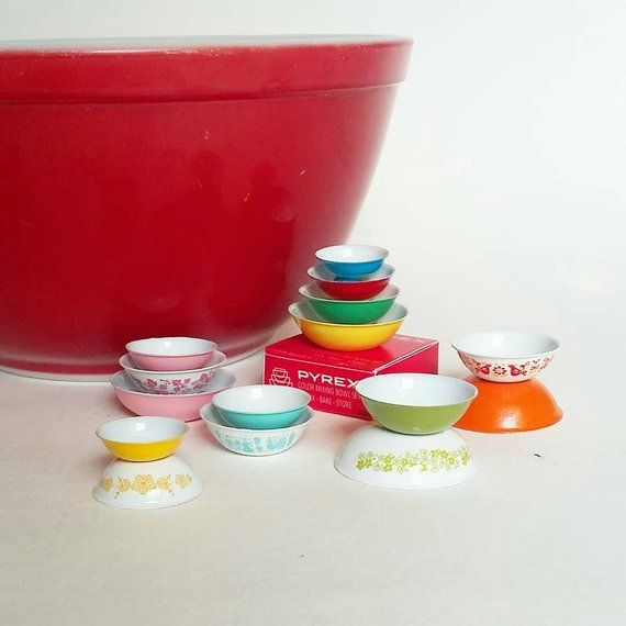 Red 4 w//Lids Its Totally Minis Dollhouse Miniatures Canister Set