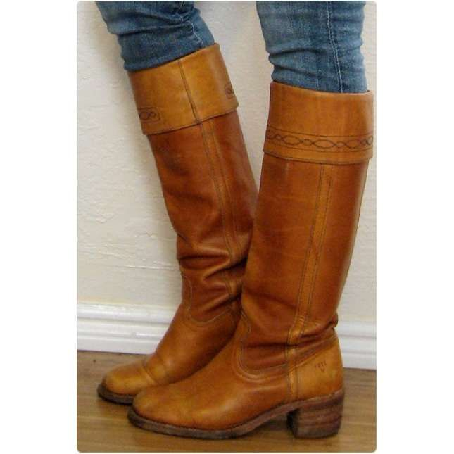 f3516e3543458 vintage frye boots | Style - fall/winter | Vintage boots, Frye ...