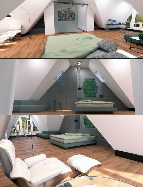 3d Room Interior Design: 3d Living Room, Interior, Modern Design