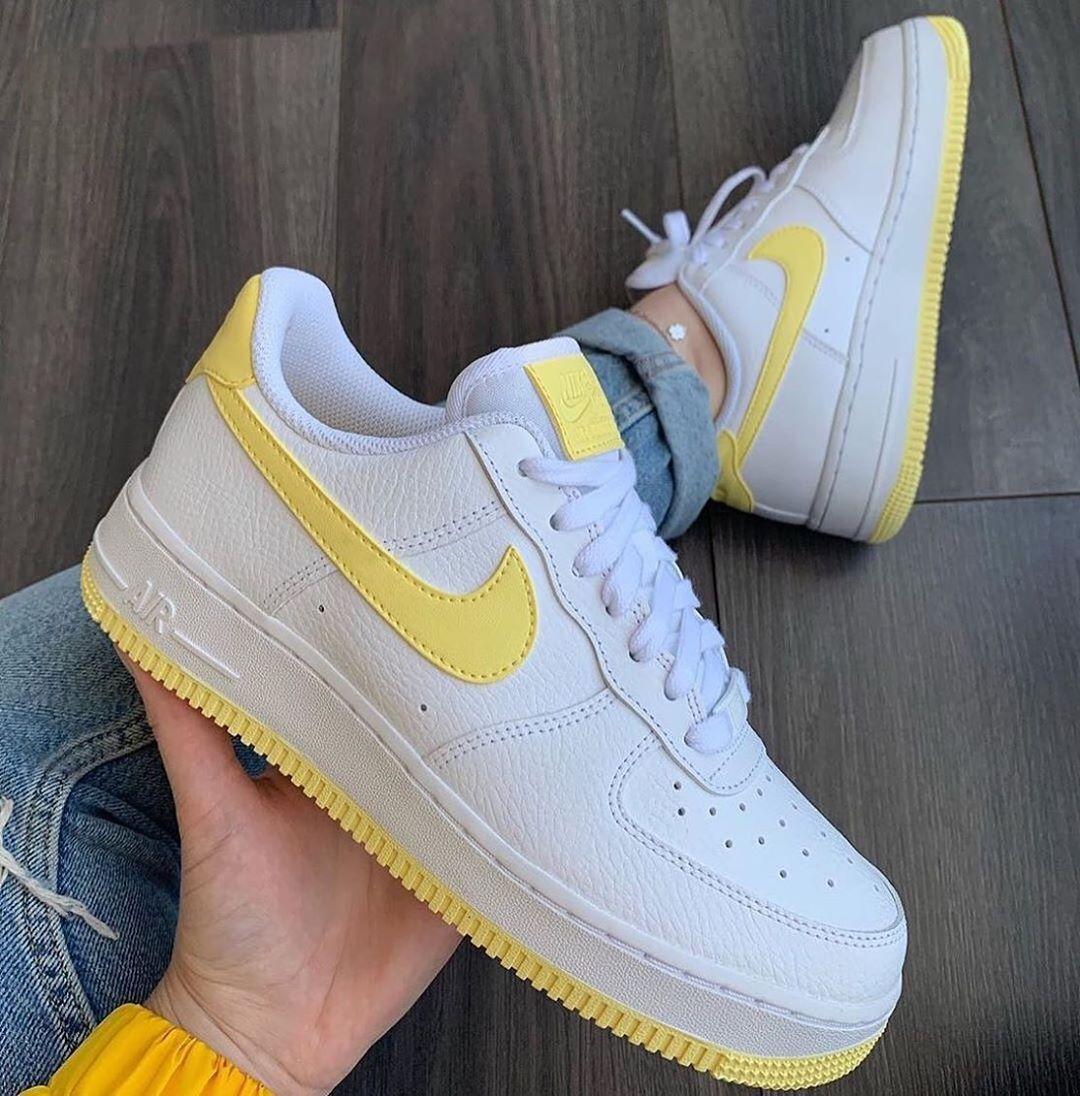 air force 1 giallo