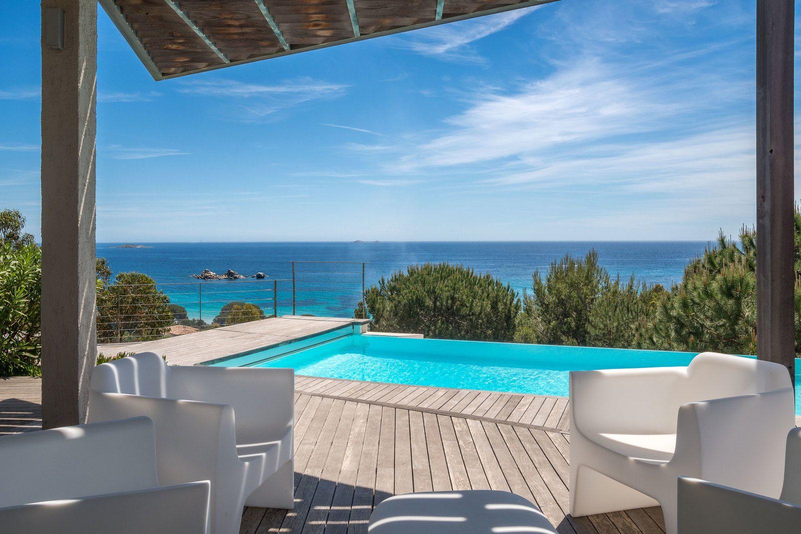 A Vendre à Palombaggia, Villa Avec Somptueuse Vue Mer