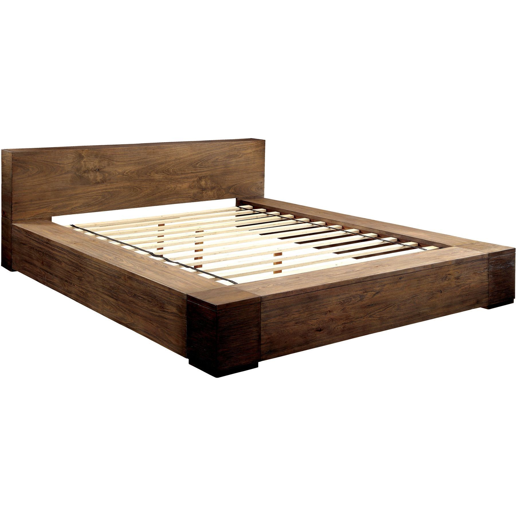 moline i transitional low profile california king platform bed in  - moline i transitional low profile california king platform bed in rusticnatural tone  california king platform bed king platform bed andcalifornia king
