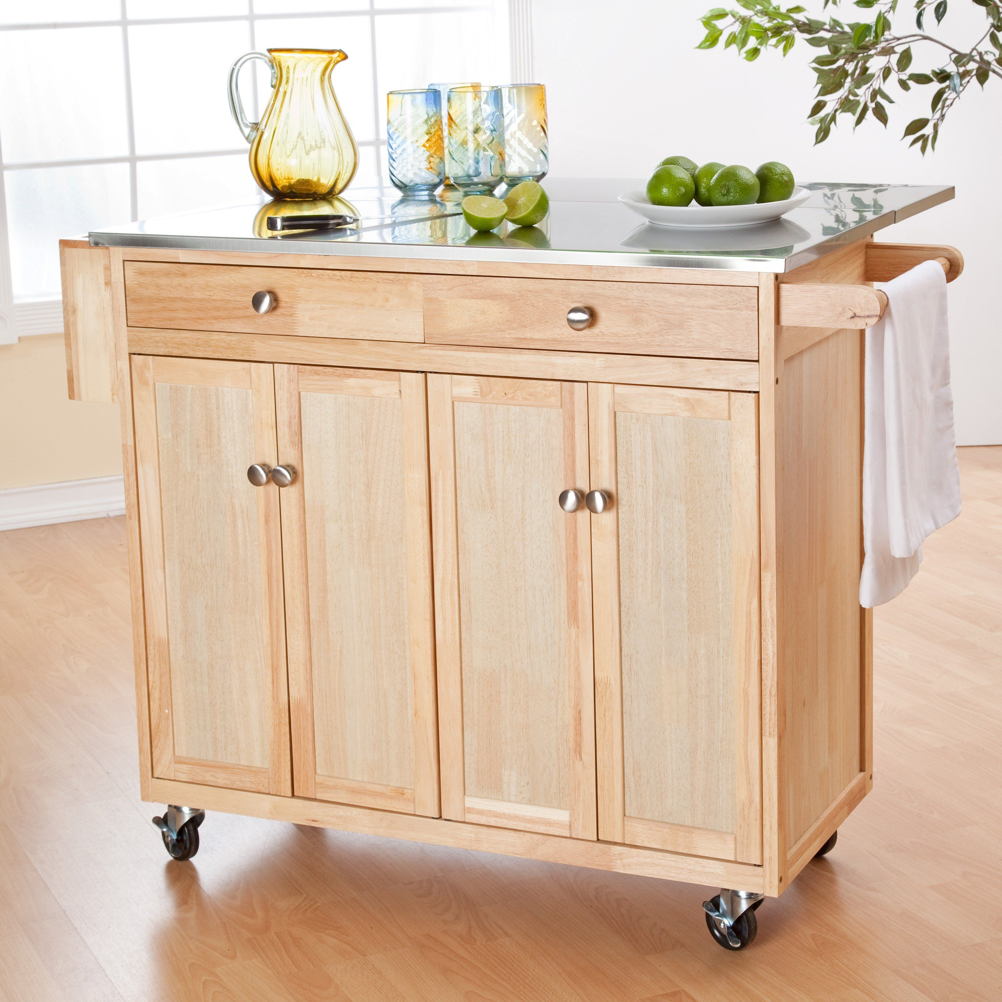 Have to have it. Belham Living Milano Portable Kitchen Island with ...