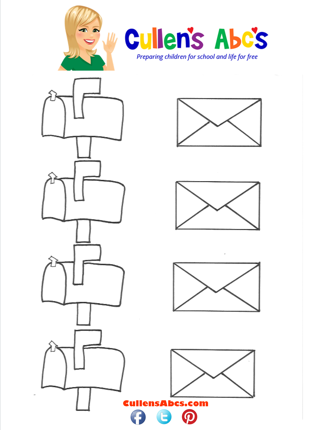 Mailbox And Envelope Matching