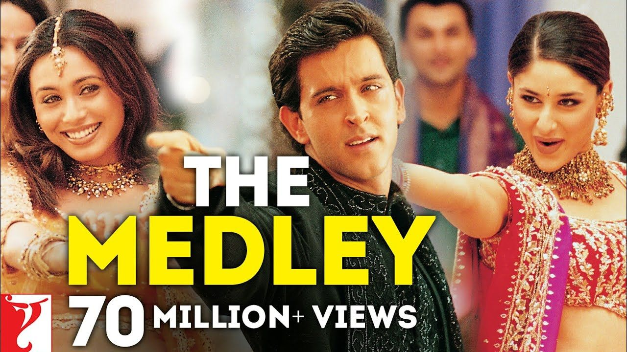 The Medley Song Mujhse Dosti Karoge Hrithik Roshan Kareena Kapoo Bollywood Music Videos Mp3 Song Download Songs