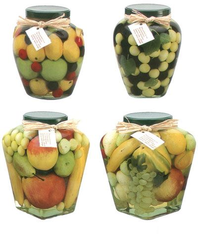 Decorative Vegetable Jars Fascinating Artificial Fruit And Vegetable Decorative Preserves Jar  Faux 2018