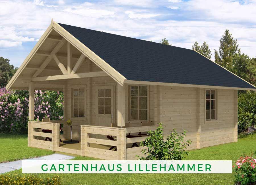 Garten Und Freizeithaus Lillehammer Iso Gartenhaus Haus Blockhaus Kaufen