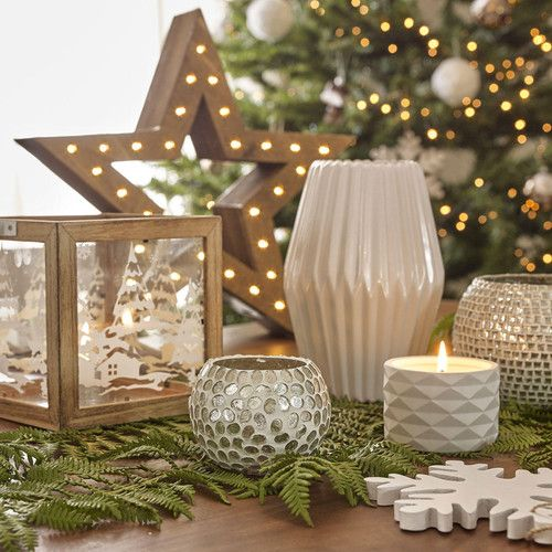 decorazioni natalizie per la tavola foresta scandinava i maisons du monde natale 2015. Black Bedroom Furniture Sets. Home Design Ideas