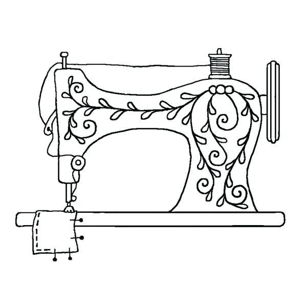Vintage Sewing Machine Old Fashioned Sewing Machine Embroidery