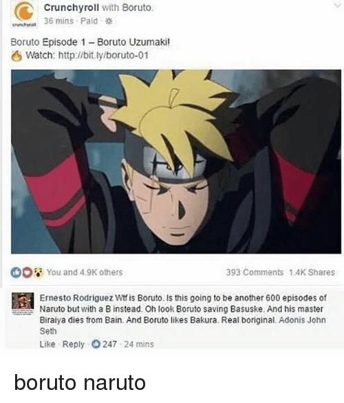 Image result for boruto memes bakura basuke   Haha   Naruto, Boruto