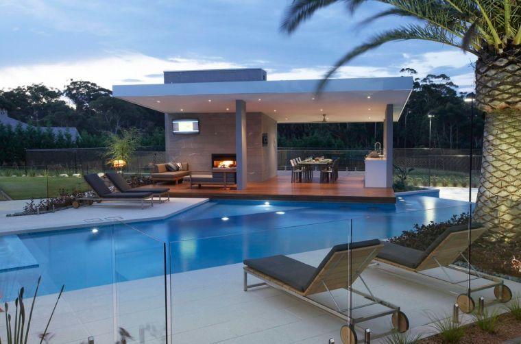 Gazébo et abri soleil : des idées pour jardin avec piscine | Pool ...