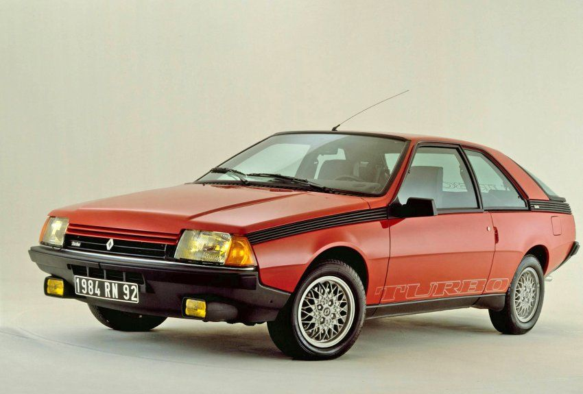 """Renault Fuego Turbo, 1983: Now with """"H""""."""