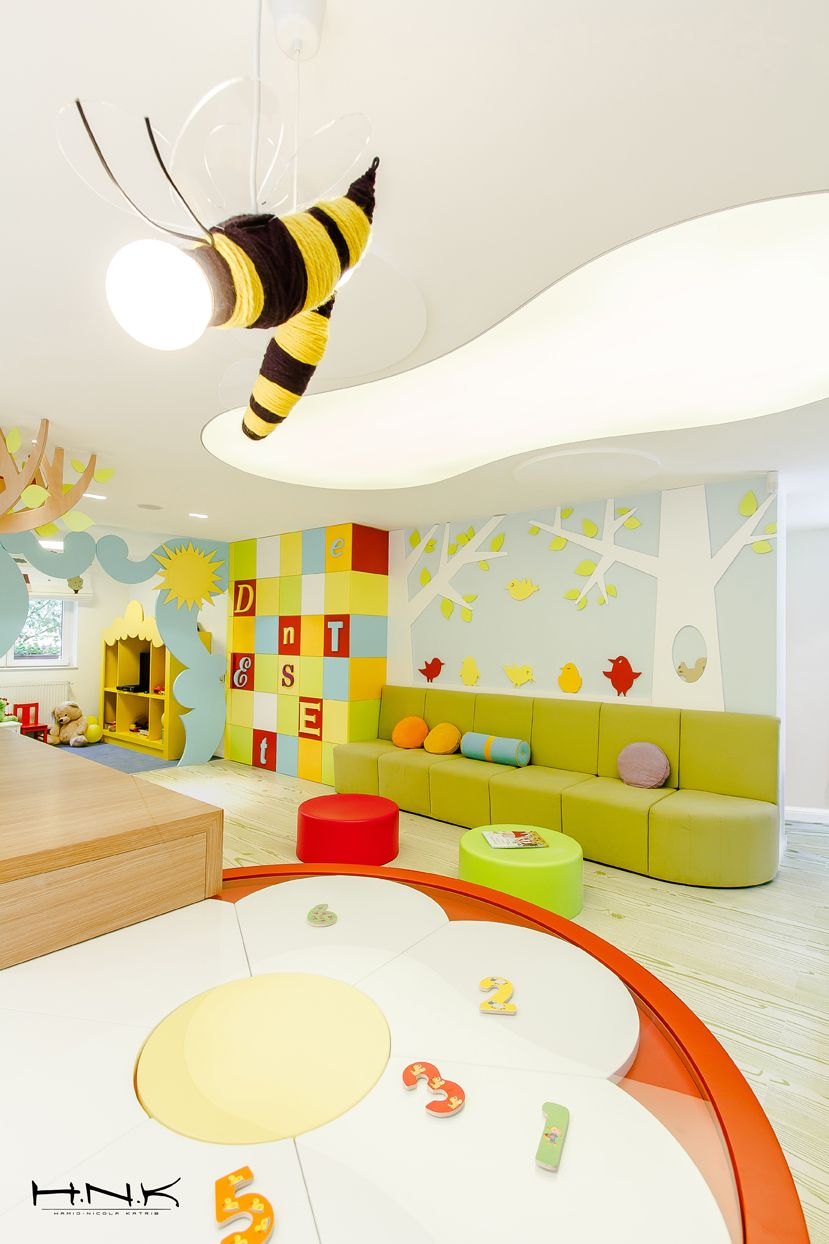 Dental Clinic for Children with a Gorgeous Design: Dent Estet 4 Kids ...
