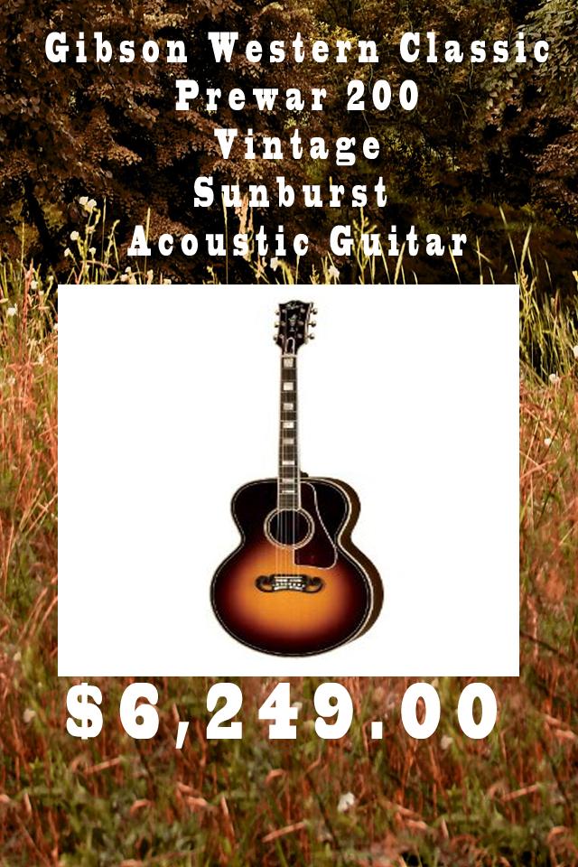 Gibson Western Classic Prewar 200 Guitar App Custom Guitar Guitar News