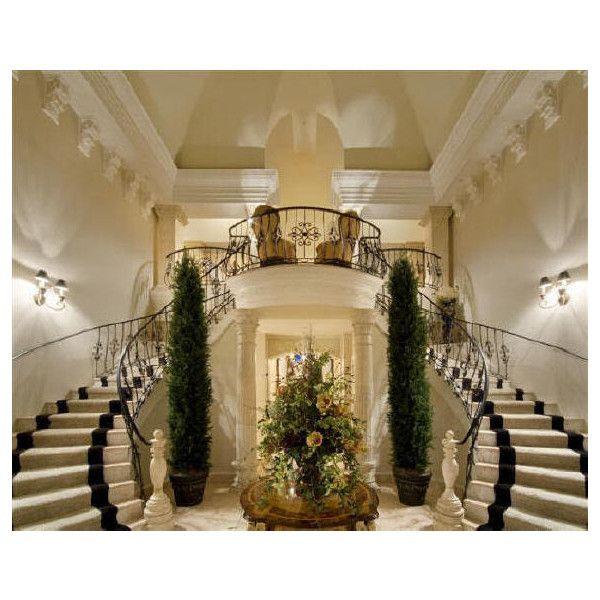 Italian Baroque Villa plan design, palace luxury home design ...