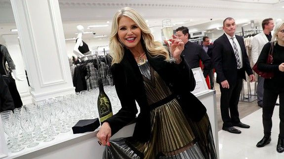 christie brinkley appears to defy gravity in sports illustrated