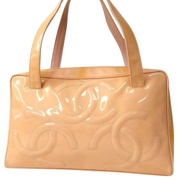 Auth CHANEL Triple CC COCO Mark Shoulder Bag Adorable