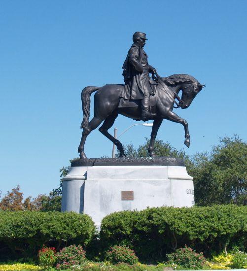 P T Beauregard Civil War General Entrance To City Park
