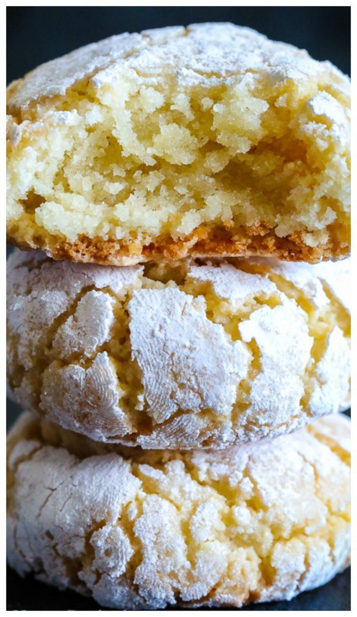 Chewy Italian Amaretti Cookies