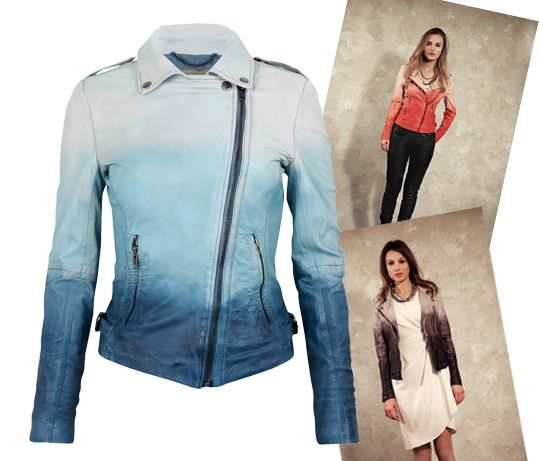 Who wants a plain leather jacket, when you can have this?!