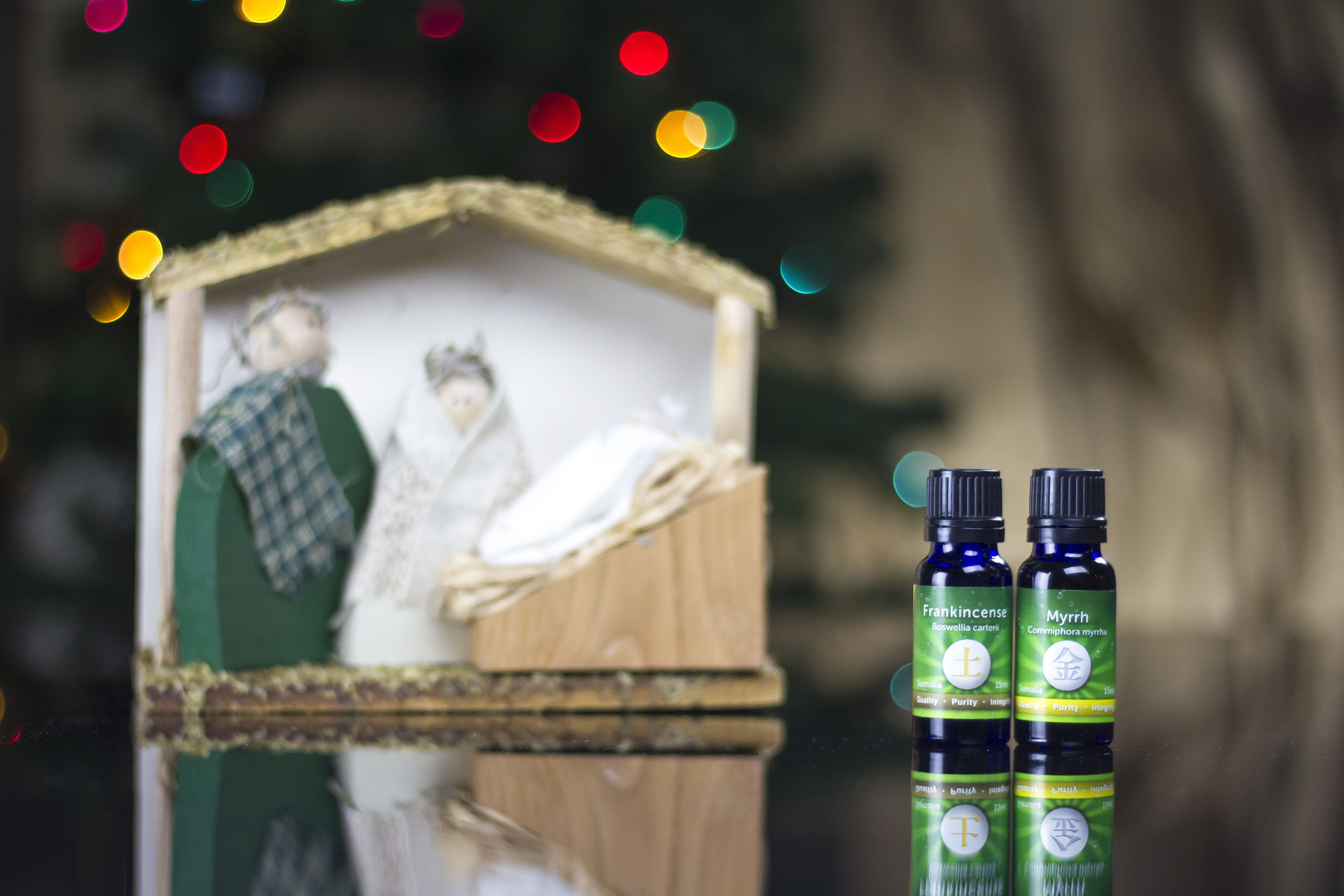 Essential oils perfect for the christmas season