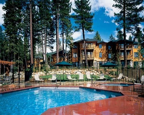 It doesn't get more cozy than this! Hyatt High Sierra Lodge, Incline Village, Nevada