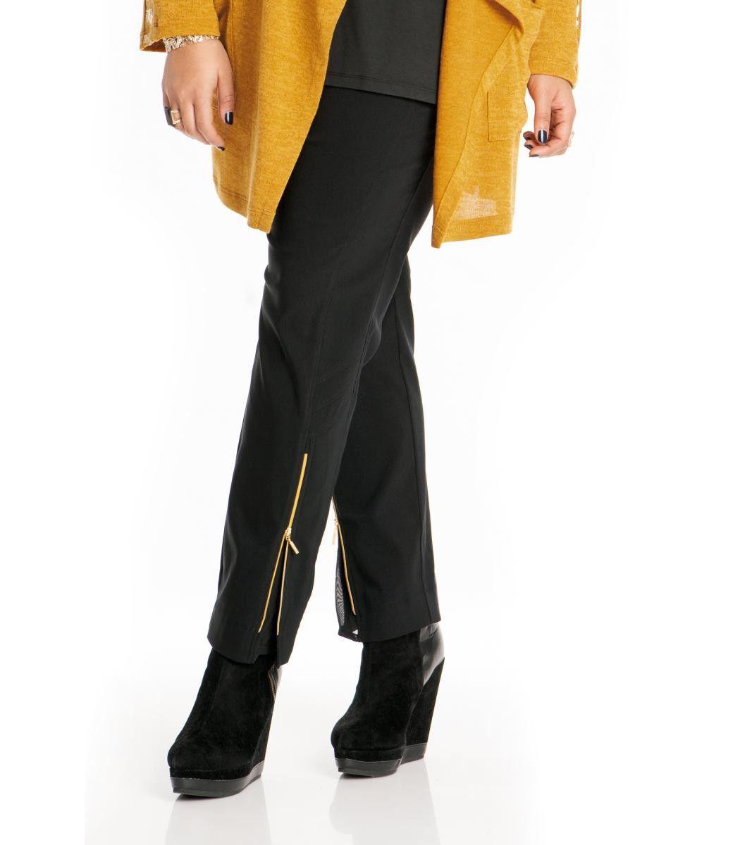 Sempre Piu Damen Hose schwarz   Damenhosen und Jeans   Pinterest 57e341eaac