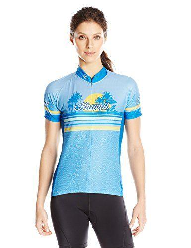 CANARI Womens Souvenir Cycling//Biking Jersey