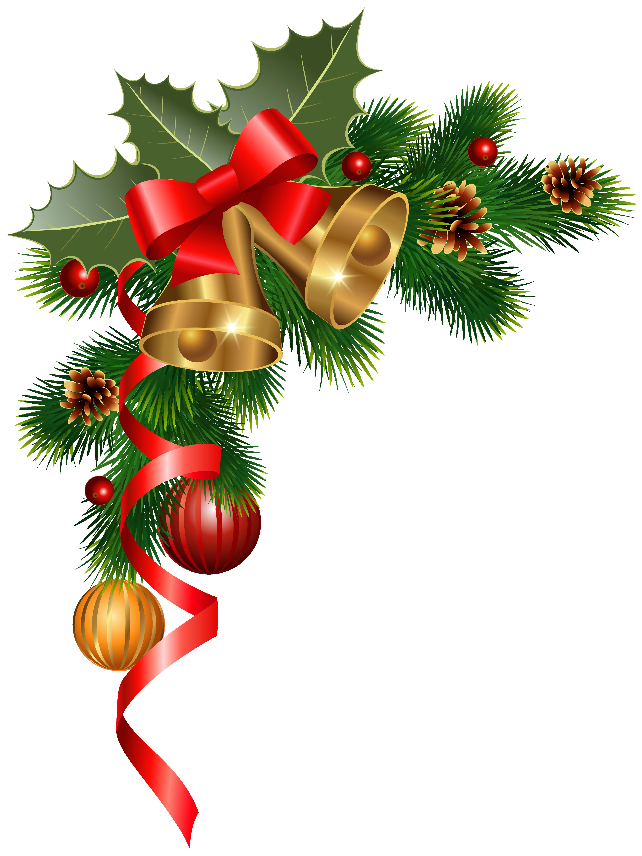 Christmas Corner Decoration PNG Clipart Image Christmas