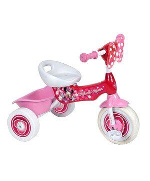 Look what I found on #zulily! Minnie Mouse Folding Trike by Disney #zulilyfinds