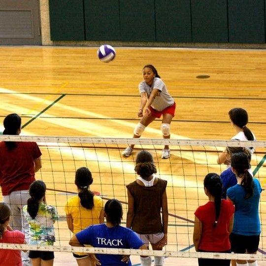 Co Ed Beginner Volleyball Skills Class Volleyball Skills Kids Events Volleyball
