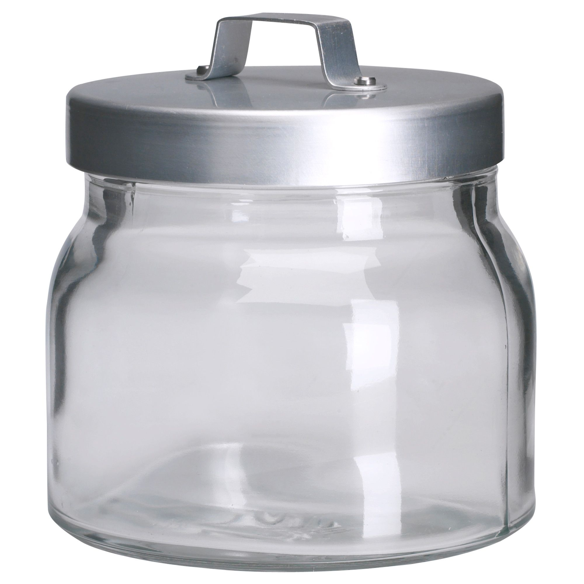 burken jar with lid clear glass aluminum 17oz 2 99 37oz 3 99 burken jar with lid clear glass aluminum 17oz 2 99 37oz 3 99