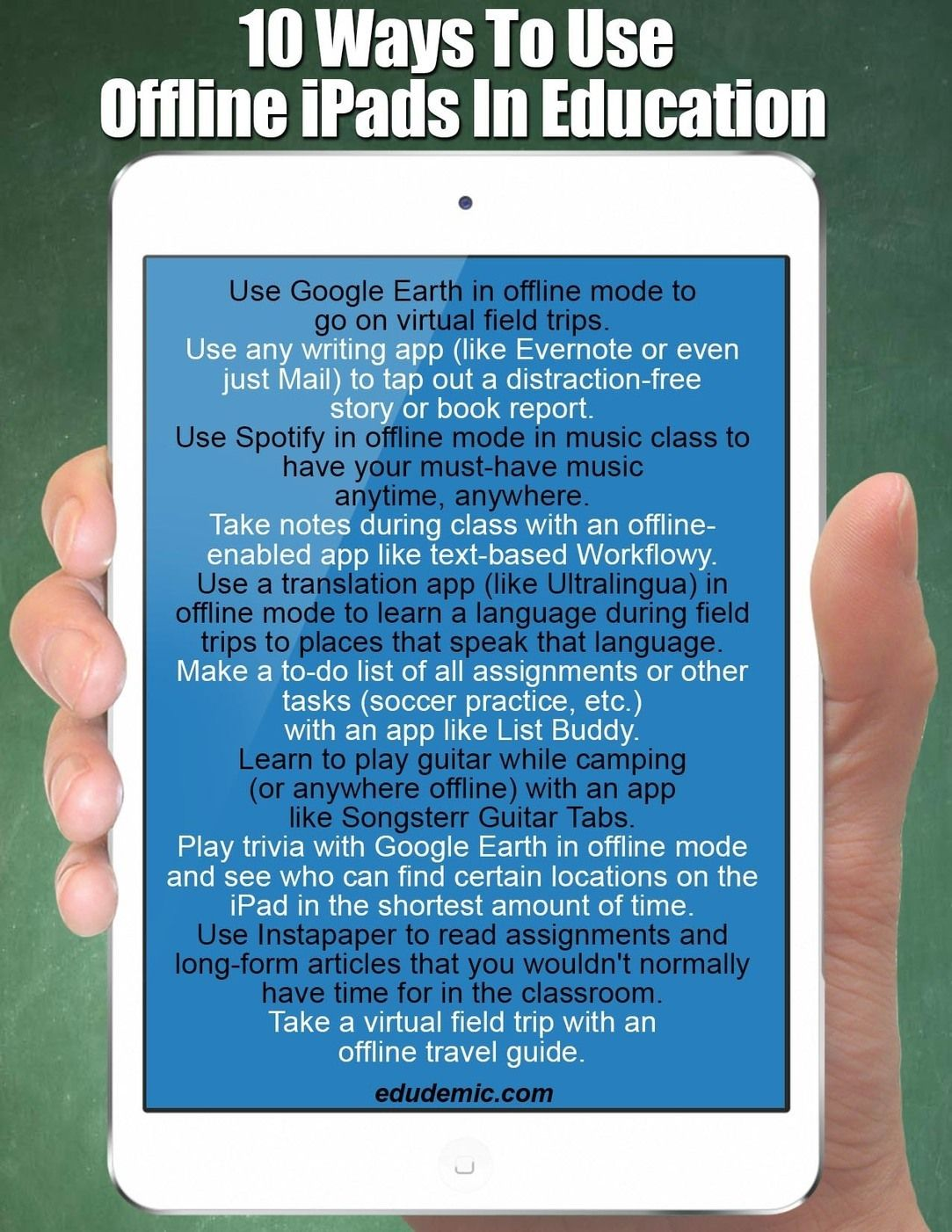 10 Great Tips on Using iPad Offline ~ Educational ...