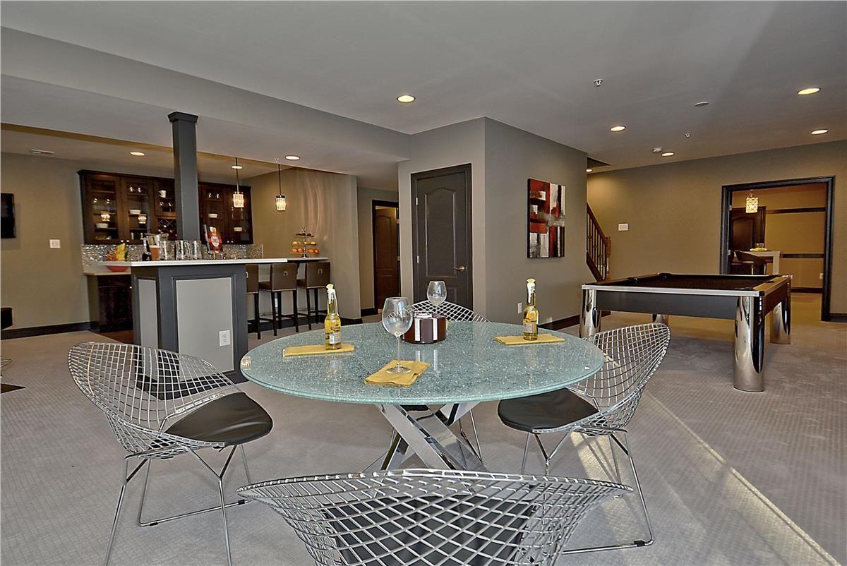 Caruso Homes Kingsport Model Rec Room At 12001 Weathervane Lane