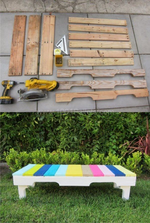Pin On Pallet Benches Chairs Stools