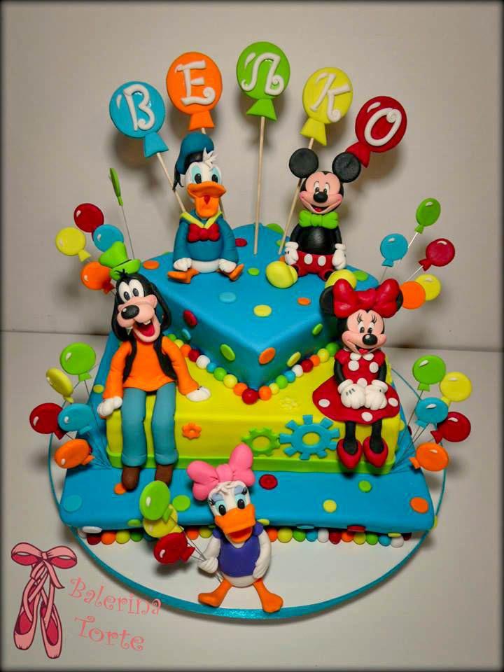 Disney Cake Dizni Junaci Torta Miki Maus Torta By